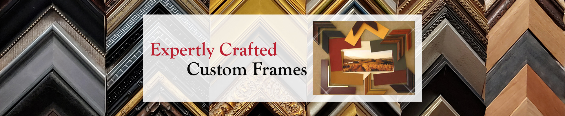 5b10aed40efd Masterful Custom Framing from a Reputable Frame Shop and Art Gallery in  Independence